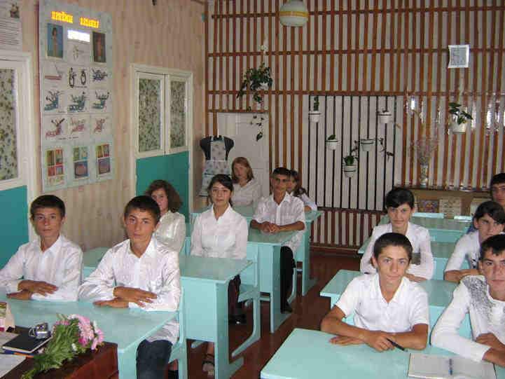 знакомство с учащимися изо